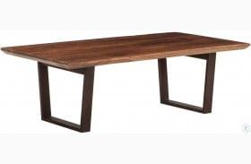 Mapai Matte Black Rectangular Coffee Table