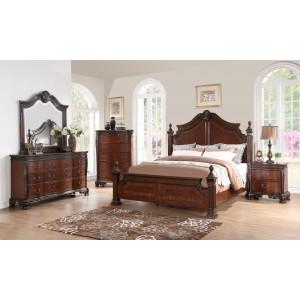old world estate bedroom set from art 143155 coleman furniture. Black Bedroom Furniture Sets. Home Design Ideas