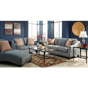 Makonnen Charcoal Living Room Set From Ashley 78000