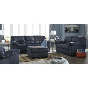 Vessot Ink Blue Living Room Set From Coaster 505791