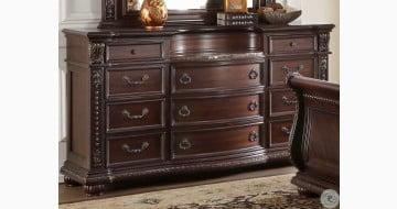 Cavalier Dark Cherry Dresser