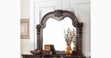 Cavalier Dark Cherry Mirror