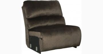 Clonmel Chocolate Armless Chair