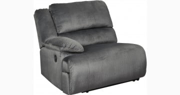 Clonmel Charcoal LAF Zero Wall Power Recliner