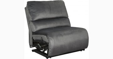 Clonmel Charcoal Armless Chair