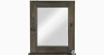 Abington Weathered Portrait Mirror