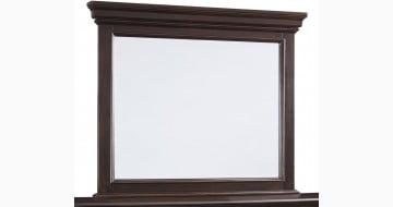 Brynhurst Dark Brown Bedroom Mirror