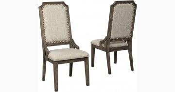 Wyndahl Rustic Brown Side Chair Set Of 2