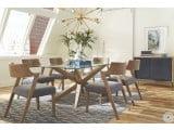 Artesia Gray Oak Dining Room Set