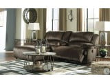 Clonmel Chocolate Console LAF Sectional
