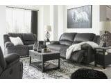 Clonmel Charcoal 2 Seat Reclining Living Room Set