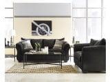 Darcy Black Living Room Set