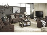 Jesolo Coffee Reclining Living Room Set
