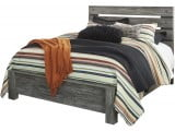 Cazenfeld Black and Gray Panel Bedroom Set