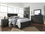 Brinxton Charcoal Gray Panel  Bedroom Set