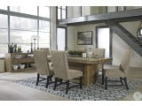 Sommerford Brown Dining Upholstered Side Chair Set of 2