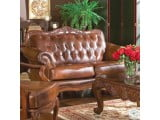 Victoria Tri Tone Leather Living Room Set