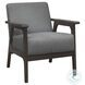 Ocala Gray Accent Chair