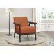Ocala Orange Accent Chair