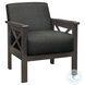 Herriman Dark Gray Accent Chair
