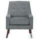 Ride Gray Accent Chair