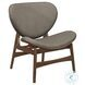 Savry Brown Gray Lounge Chair