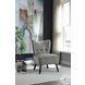 Imani Gray Velvet Accent Chair