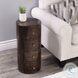 Liam Dark Brown Wood Storage End Table