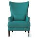 Avina Teal Accent Chair