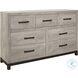 Zephyr Brown Dresser