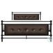 Jayla Black Full Metal Panel Bed