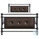 Jayla Black Twin Metal Panel Bed