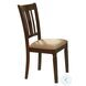 Devlin Espresso Side Chair Set of 2