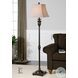 Viggiano Oil Rubbed Bronze With Gold Floor Lamp Set Of 2