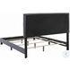Mapes Gray Upholstered Full Panel Bed