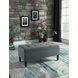 Hamden Dark Gray Bench