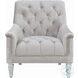 Avonlea Gray Velvet Chair
