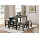 Timbre Gray Counter Height Stool Set Of 2