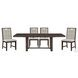 Rathdrum Dark Oak Extendable Dining Room Set