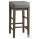 Pittsville Antique Gray Pub Height Stool Set Of 2