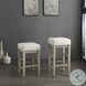 Pittsville White Pub Height Stool Set Of 2