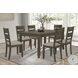 Solvang Dark Gray Dining Table