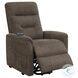 609404P Brown Power Lift Massage Chair