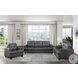 Hinsall Gray Living Room Set