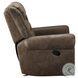 Creighton Brown Glider Reclining Chair