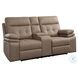 Millington Brown Double Reclining Living Room Set