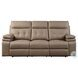 Millington Brown Double Reclining Sofa