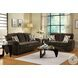 Rubin Chocolate Living Room Set