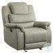 Shola Gray Glider Reclining Chair