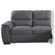 Andes Gray 2 Piece Storage RAF Sectional